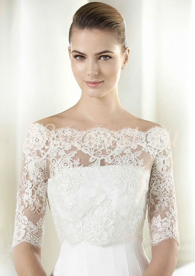 Платье свадебное с болеро