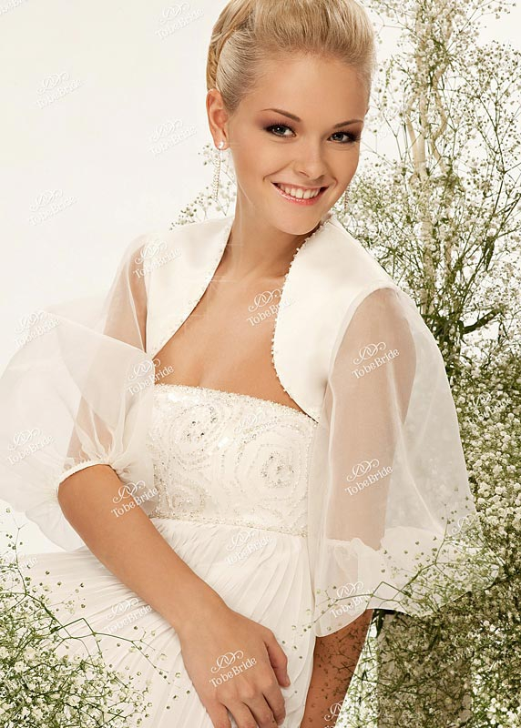 Болеро и накидки на платье
